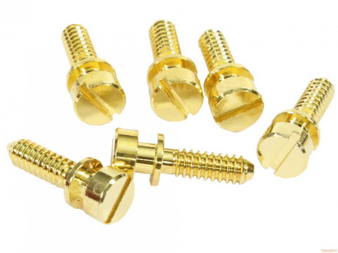 Gibson Wired ABR-1 Intonation Screw Set Nickel Finish fits Gibson* USA Guitars