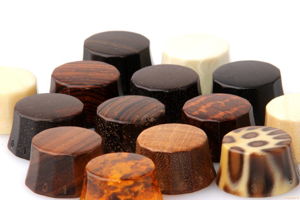 Worlds Finest Selection Of Custom Guitar Knobs