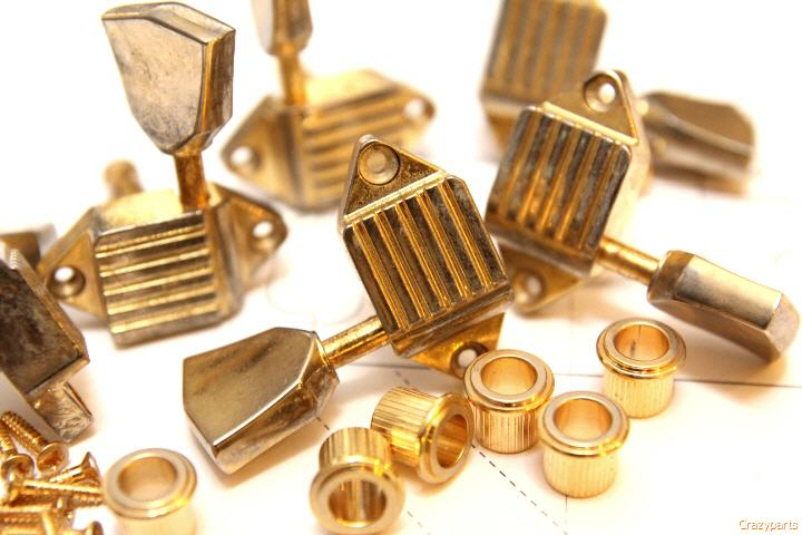 Authentic aged Gold Tuners...